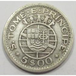5 escudos 1951