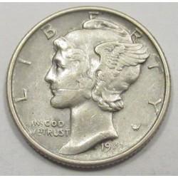 mercury dime 1941