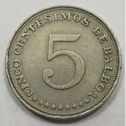 5 centesimos 1966 - Balboa
