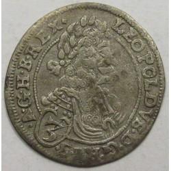 Leopold I. 3 kreuzer 1696 CH