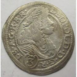 Leopold I. 3 kreuzer 1695 NB