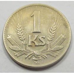 1 koruna 1942
