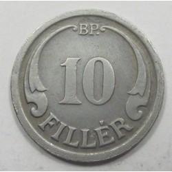 10 fillér 1942