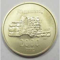 2000 forint 2017 - St. Margaret