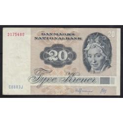 20 kroner 1972