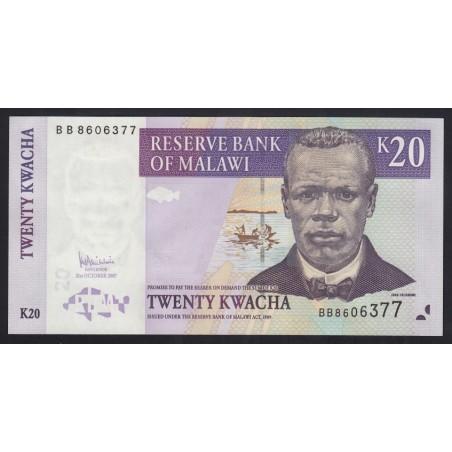 20 kwacha 2007
