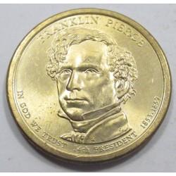 1 dollar 2010 - Franklin Pierce