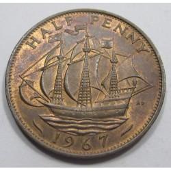 1/2 penny 1967