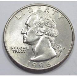 quarter dollar 1996 P