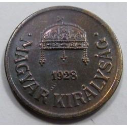 2 fillér 1928