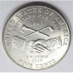 5 cents 2004 P - Louisiana