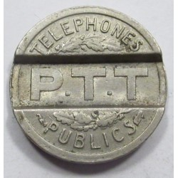 French phone jeton 1937