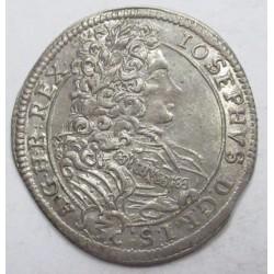 Joseph I. 3 kreuzer 1708 CH