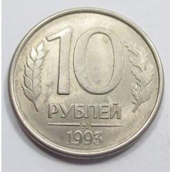 10 rubel 1993