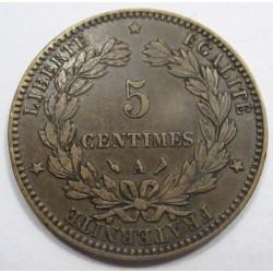 5 centimes 1897 A