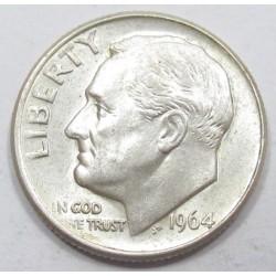 1 dime 1964