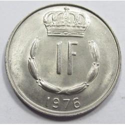 1 francs 1976