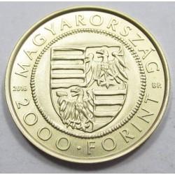 2000 forint 2016 - Sigismund gold coin