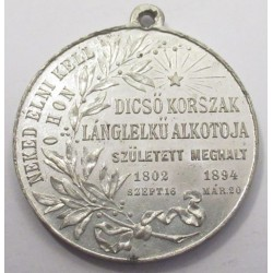 Commemorative medal for the death of Lajos Kossuth 1894