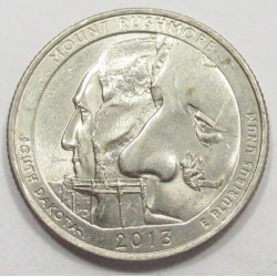 quarter dollar 2013 P - Mount Rushmore