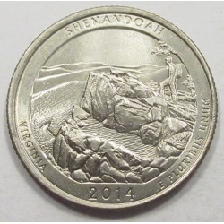 quarter dollar 2014 P - Shenandoah