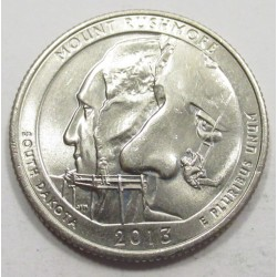 quarter dollar 2013 D - Mount Rushmore