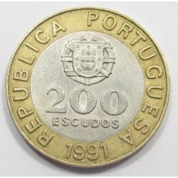 200 escudos 1991