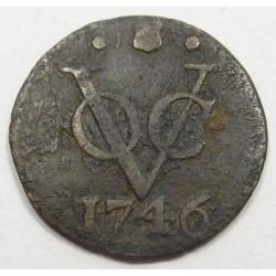 1 duit 1746 - Utrecht