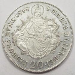 Ferdinand I. 20 kreuzer 1848 B