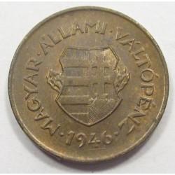 2 fillér 1946