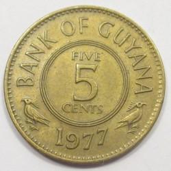 5 cents 1977