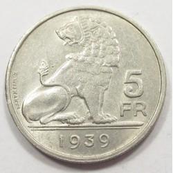 5 francs 1939