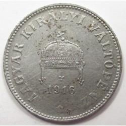 20 fillér 1916