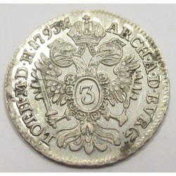 Franz I. 3 kreuzer 1794 B