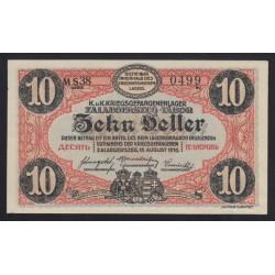 10 fillér/heller 1916 - Zalaegerszeg
