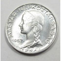 5 fillér 1957