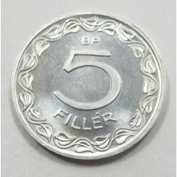 5 fillér 1955