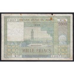 1000 francs 1952