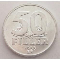 50 fillér 1988