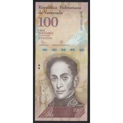 100 bolivares 2015