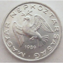 10 fillér 1989