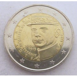 2 euro 2019 - Milan Rastislav Stefánik