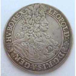 Leopold I. 1/2 thaler 1702 KB