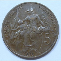 5 centimes 1915