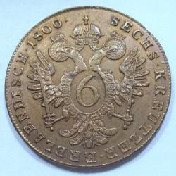 Franz I. 6 kreuzer 1800 A