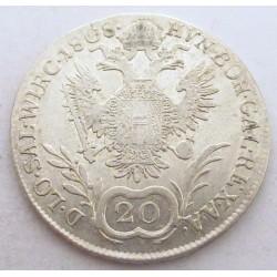 Franz I. 20 kreuzer 1808 A