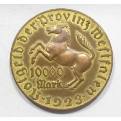 10000 mark 1923 - Freiherr vom Stein