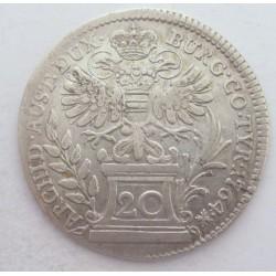 Maria Theresia 20 kreuzer 1764