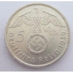 5 reichsmark 1939 A