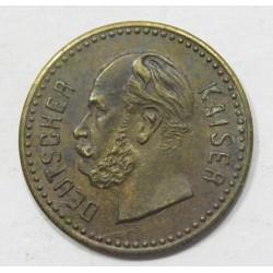 Emperor William's play money XIX. century